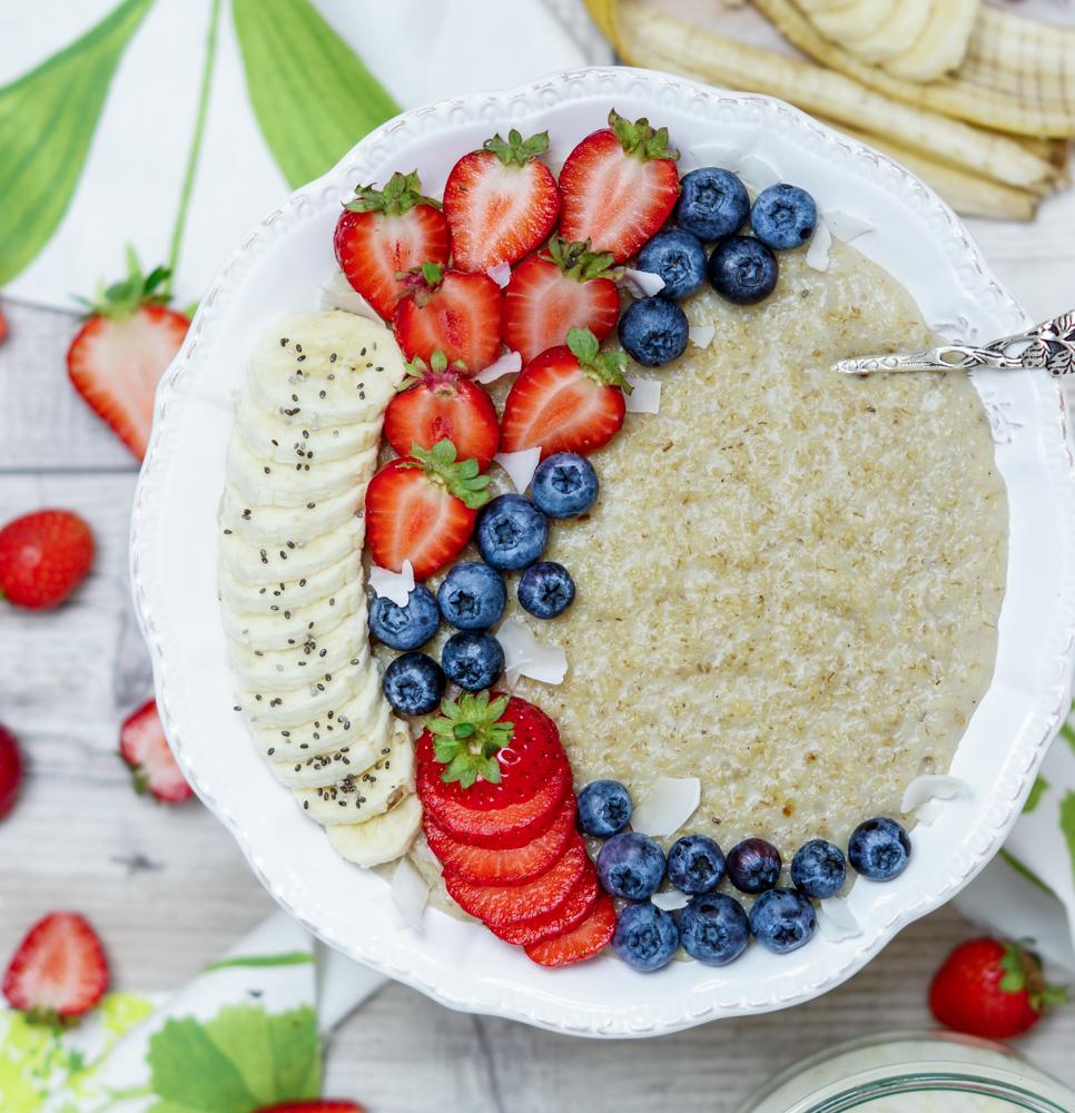 Veganes Porridge Rezept