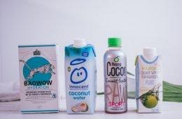 Veganes Kokoswasser