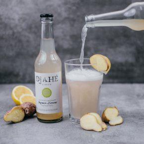 Djahé Limonade - Ingwwer-Zitrone