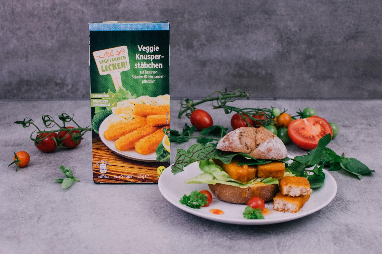 Vegan bei Aldi - Knusperstäbchen