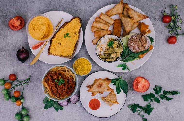 Vegan bei Aldi - Menü