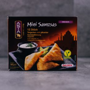 Vegan bei Aldi - Mini Samosas