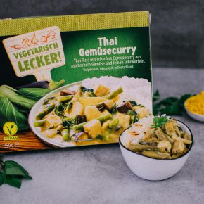 Vegan bei Aldi - Thai Gemüsecurry