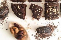 Vegane Brownies glutenfrei
