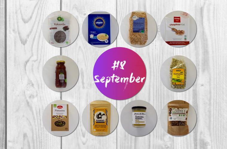 Vegane Produkte September