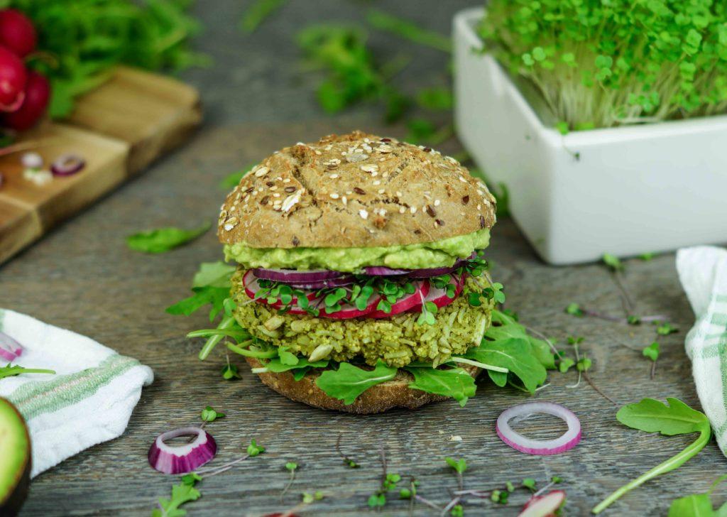 Burger Rezept vegan