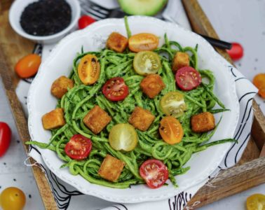 Veganes Mittagessen