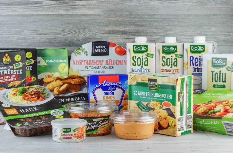 Vegane Lebensmittel bei Netto