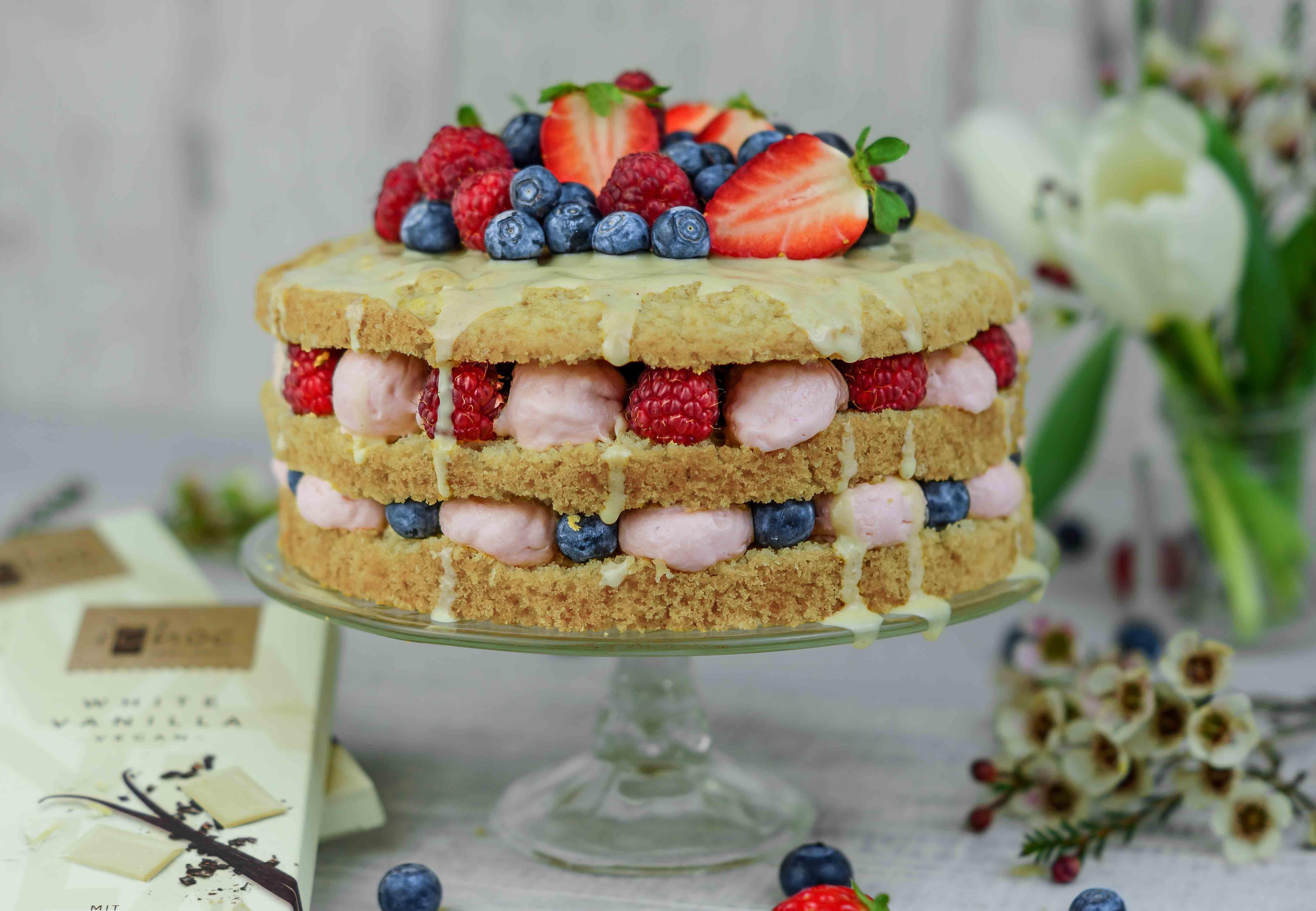 Vegane Torte Rezept