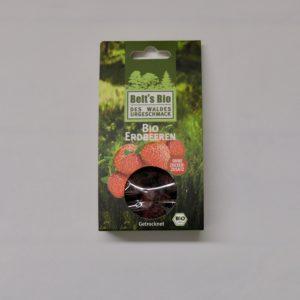 Getrocknete Bio Erdbeeren von Beltsbio