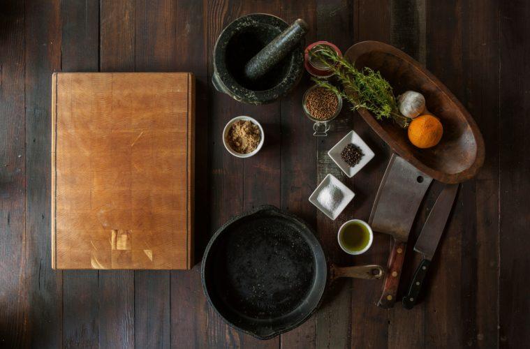 Vegane Küchenutensilien