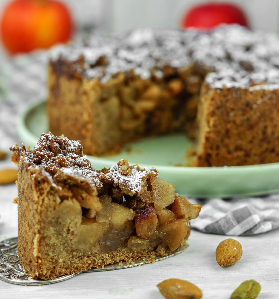 Apfelkuchen Rezept vegan