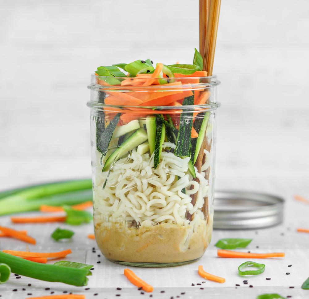 Veganer Asia Salat