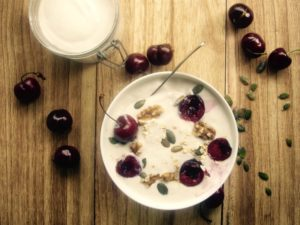 Mandel-Joghurt
