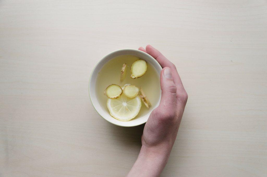 Ingwert tee zitrone