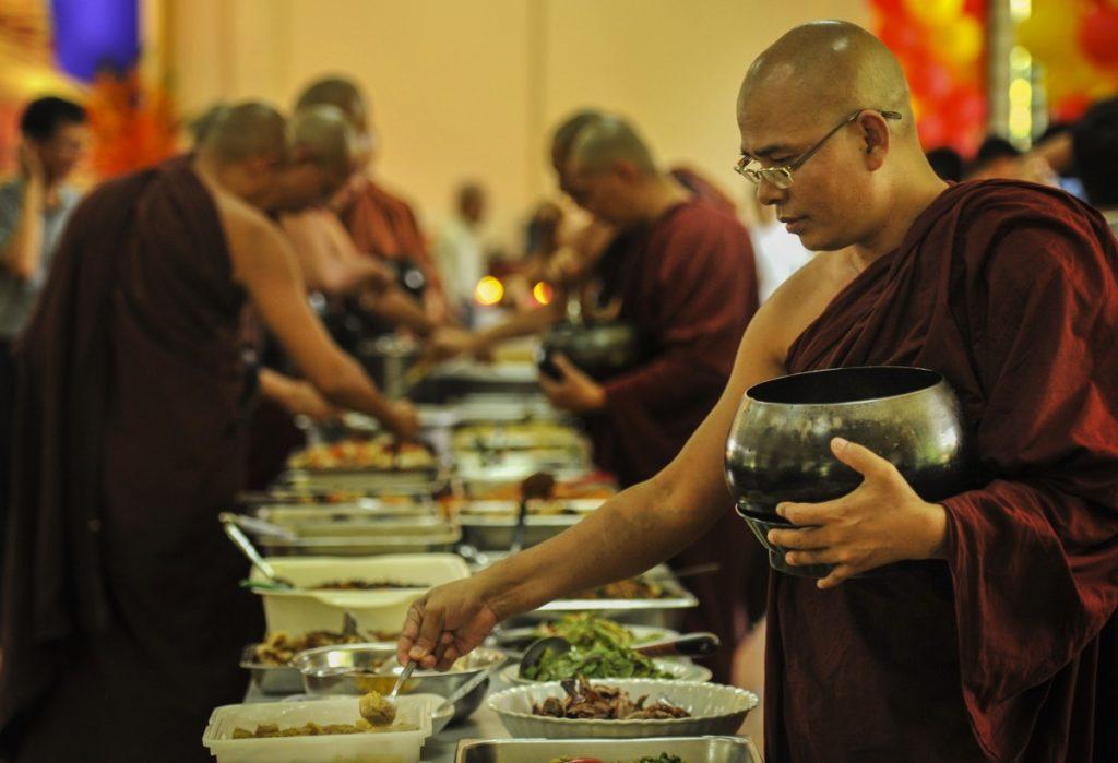 Vegan Reisen_buddhist buffet