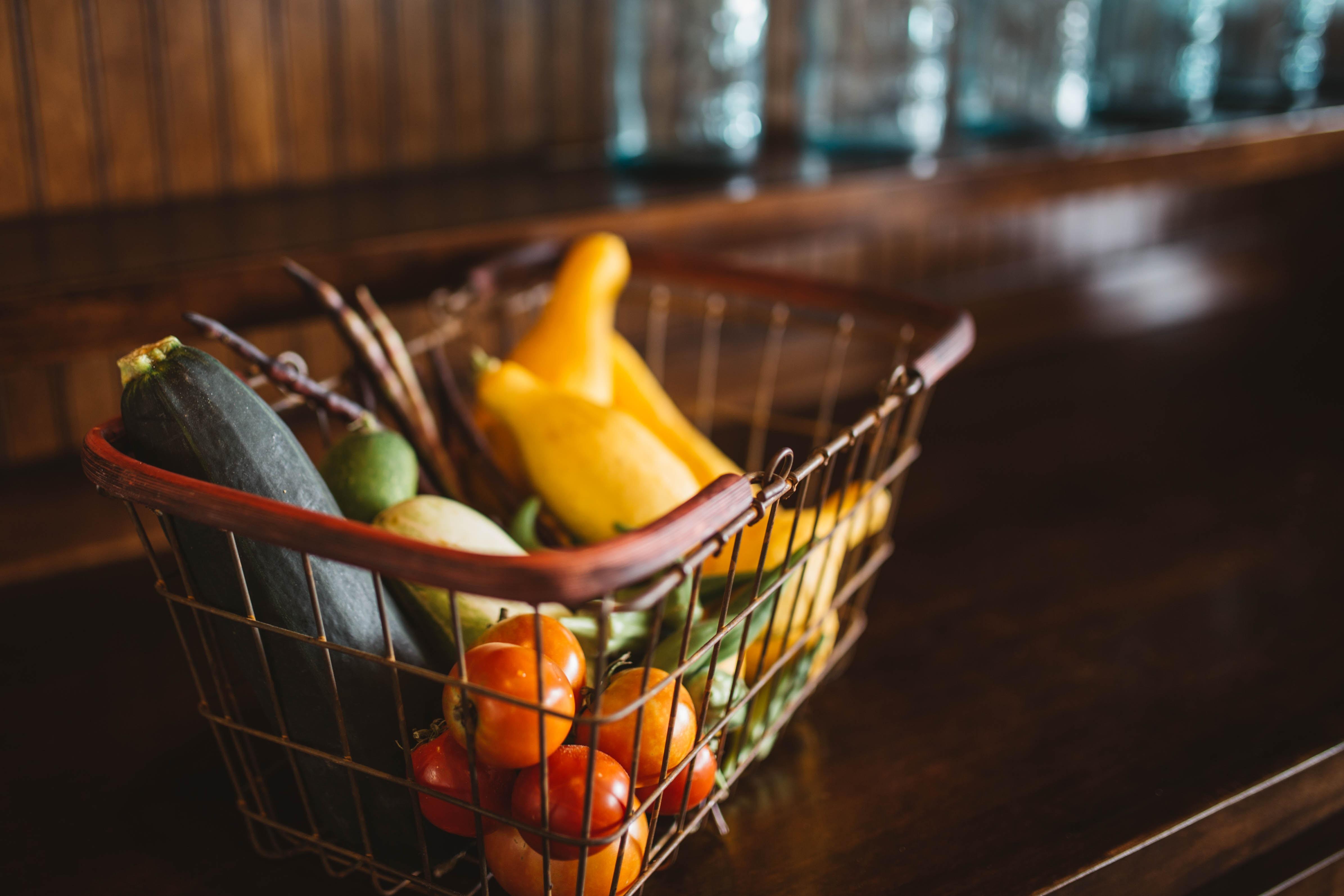 Gemüse und Obst unverpackt