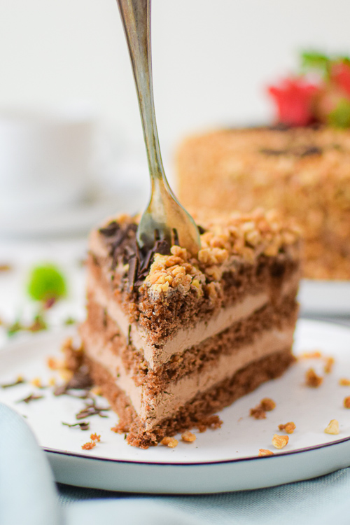lecker veganer Kuchen