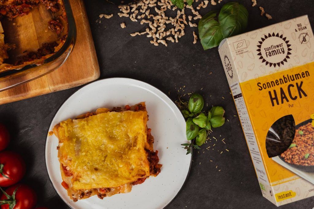 Sunflower-Lasagne