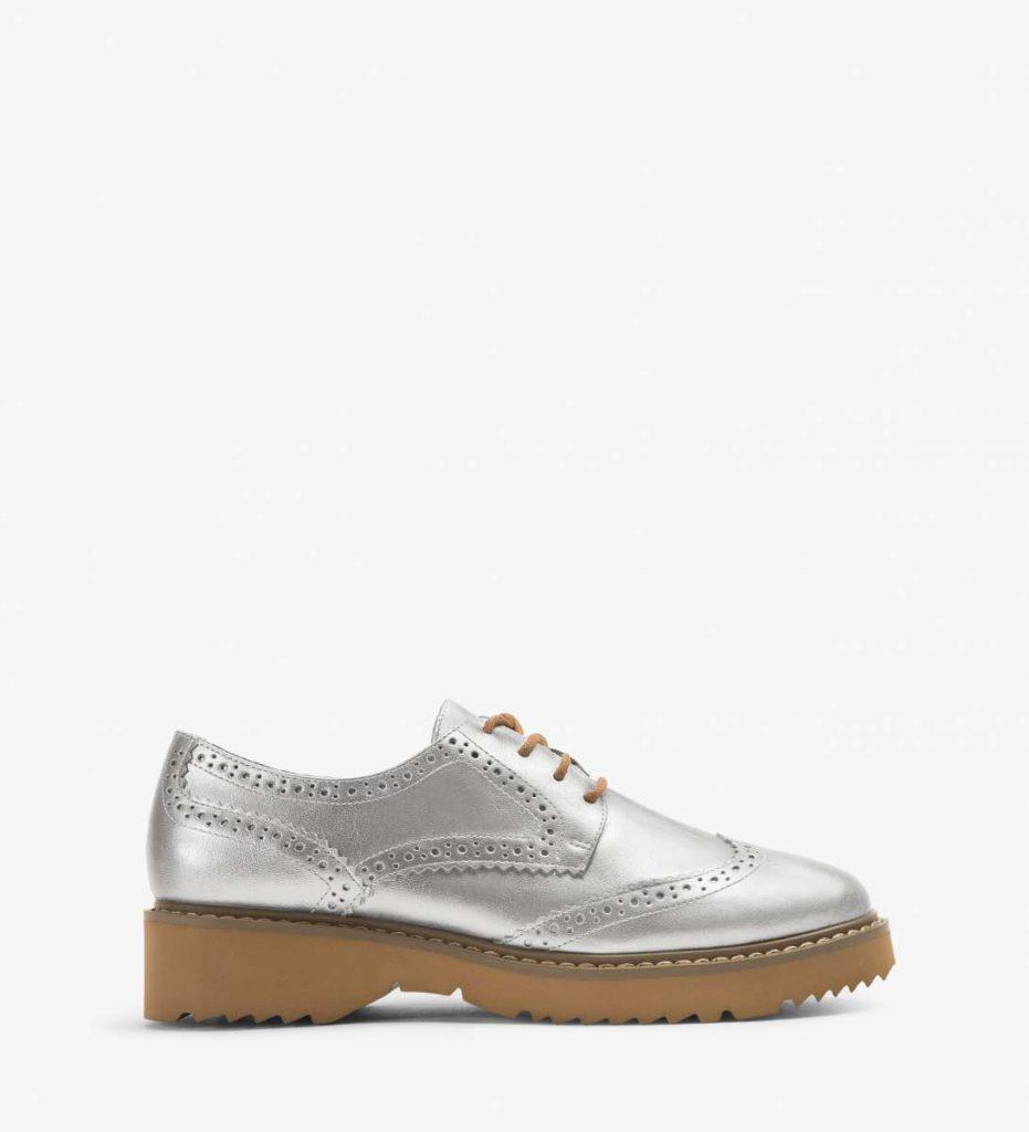 Vegane Schuhe silber