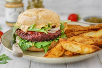 Vegane Burger aus dem Supermarkt