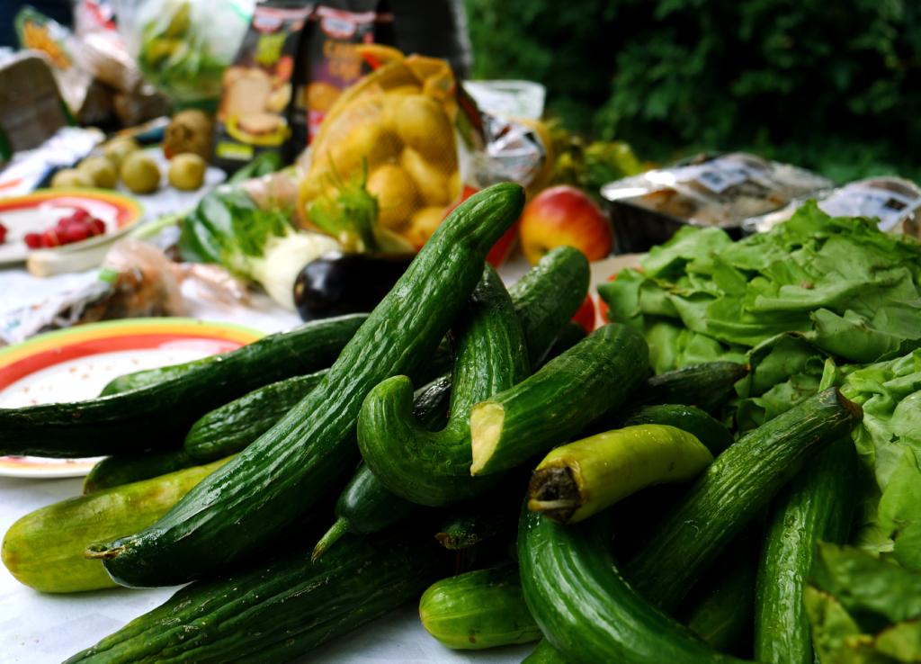 Foodsharing so geht's_gerettete Lebensmittel