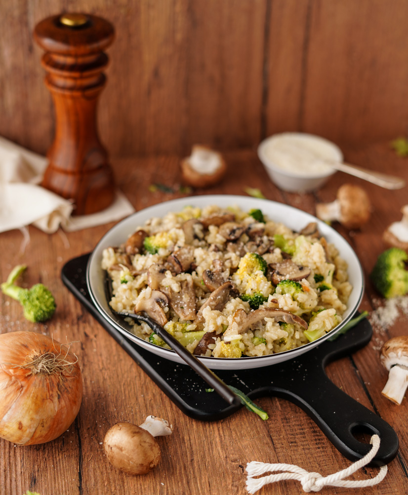 Veganes Risotto