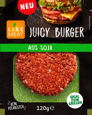 Likemeat Juicy Burger