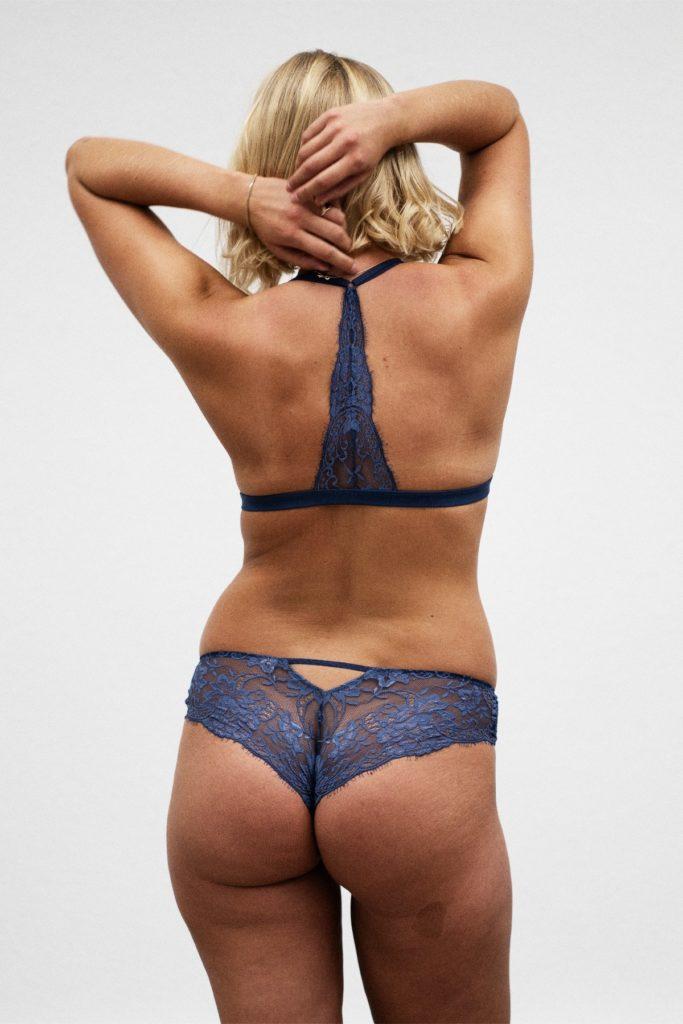 Coco Malour Spitzen Panties Blue