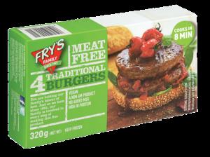 Fry Family Klassische vegane Burger