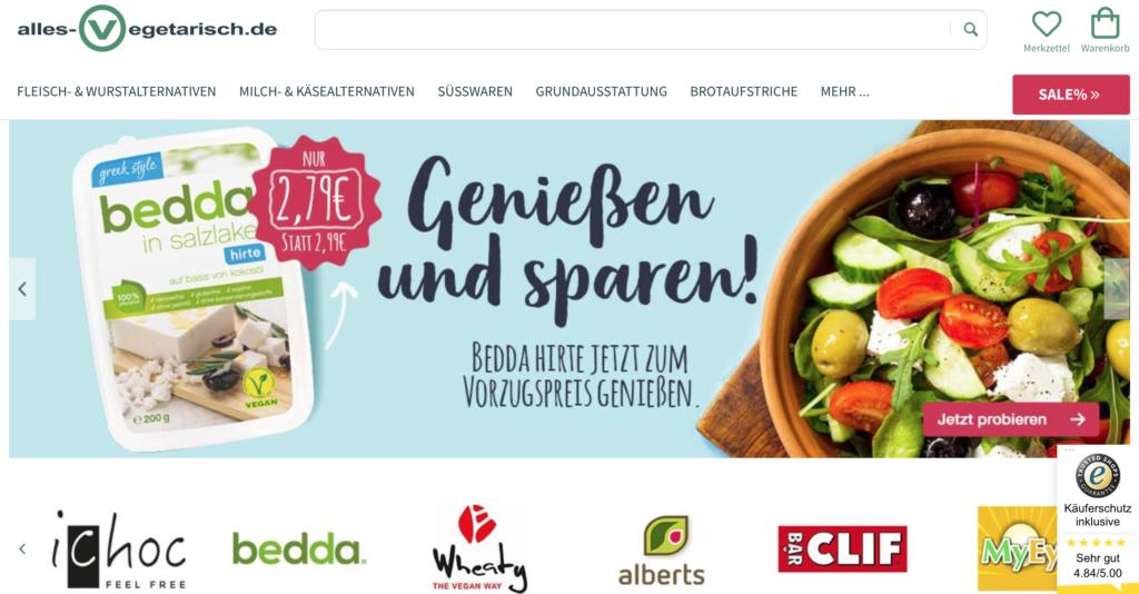 Vegane Online Shops - eine Übersicht und unsere Top 10