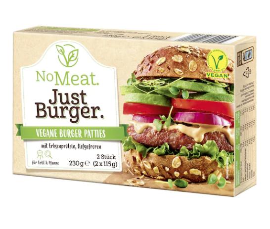 Vegane Burger von Edeka