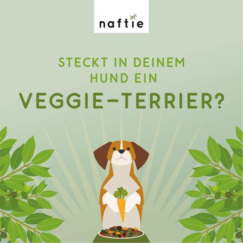 veganes Hundefutter naftie