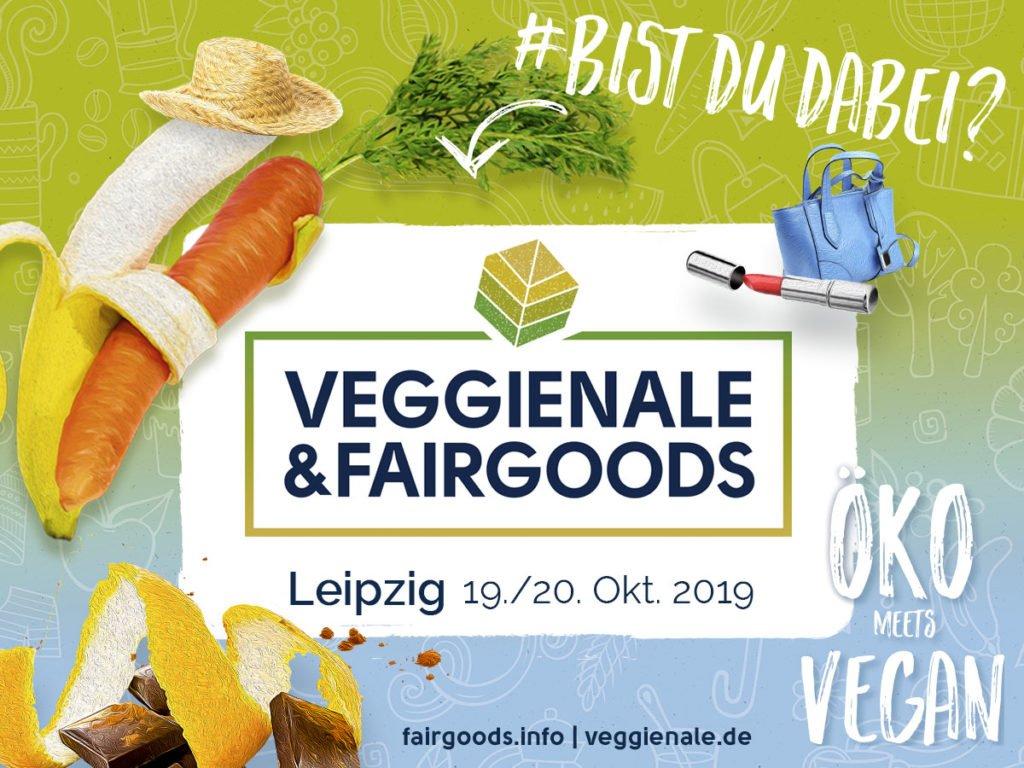 Veggienale und FairGoods in Leipzig