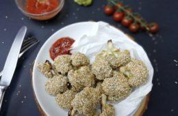 vegane Chickenwings aus Blumenkohl