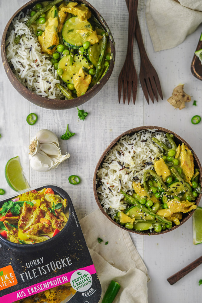 Curry vegan Rezepte