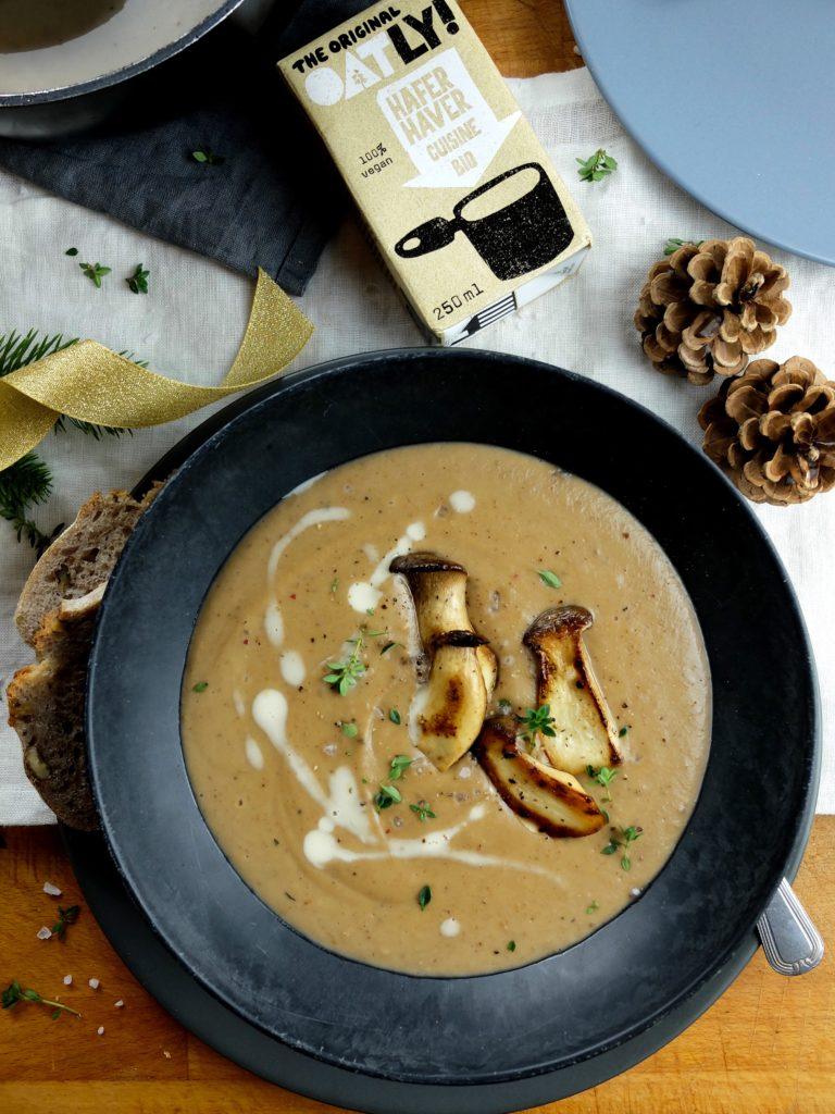 Cremige Maronensuppe für dein veganes Weihnachtsmenü