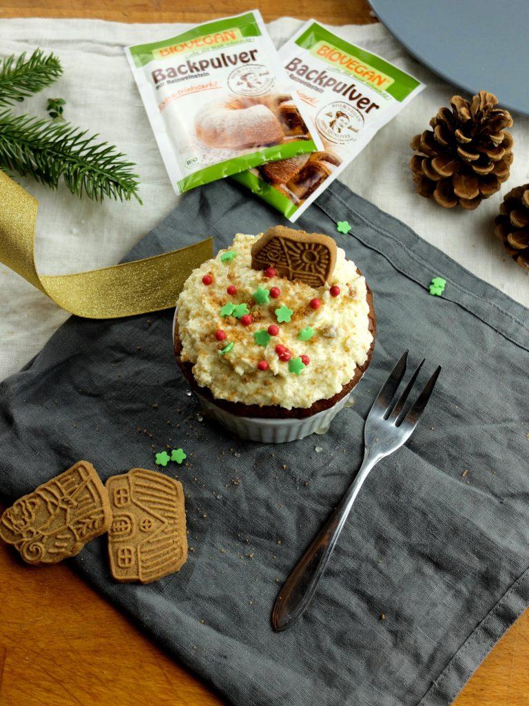 Saftige Spekulatius-Muffins für dein veganes Weihnachtsmenü