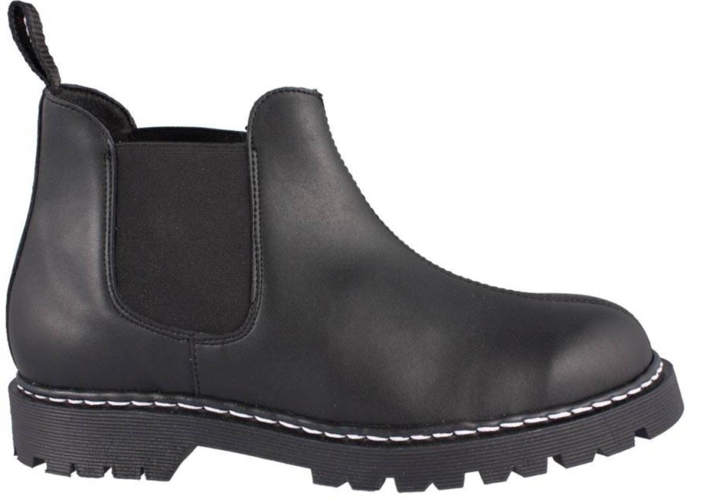 Shoezuu-Chelsea-Stitch-Boot-Black vegane Winterschuhe  Vegane Schuhe für Herbst und Winter