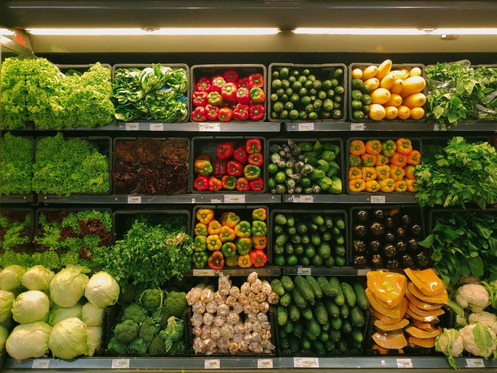 Vegan Essen in Spanien Obst und Gemüse