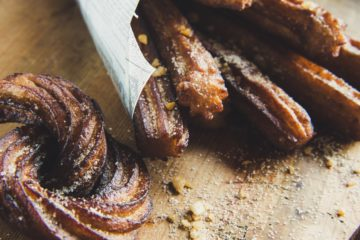 Spanien Vegan Reisen_churros header
