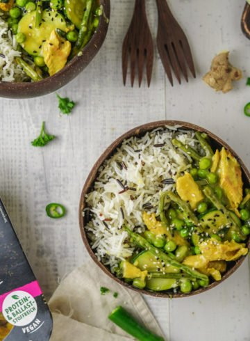 Veganes Gemüse Curry