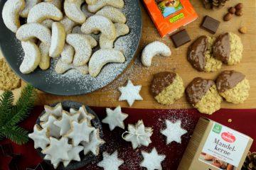 Vegane Plätzchen zur Weihnachtszeit
