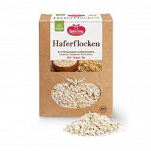 Glutenfreie Haferflocken in Rohkostqualität Vegane Plätzchen