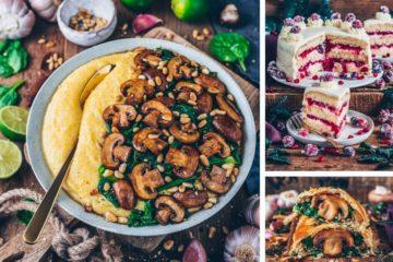 Vegan Foodporn Bianca Zapatka veganes Weihnachtsmenü