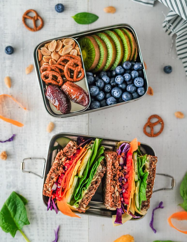 Lunchbox rezepte vegan