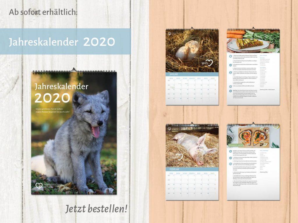 Jahreskalender 2020 Pelzindustrie