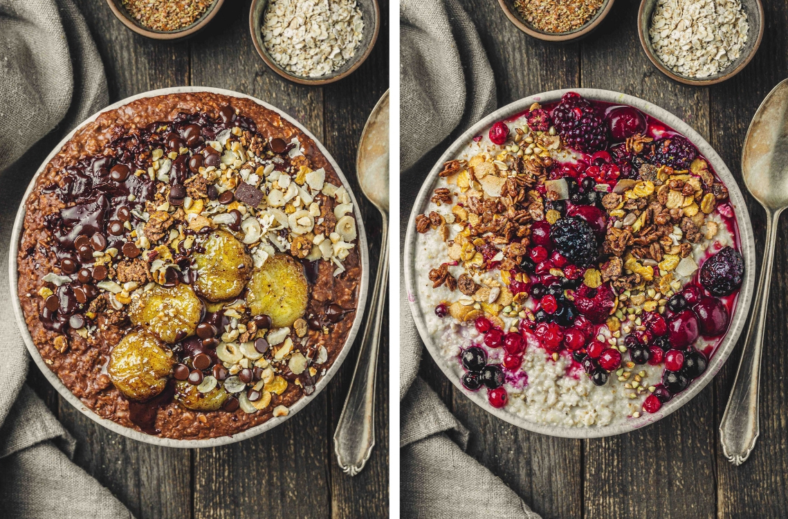 Porridge vegan