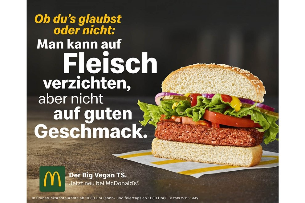 Mcdonalds Hamburger Fleisch