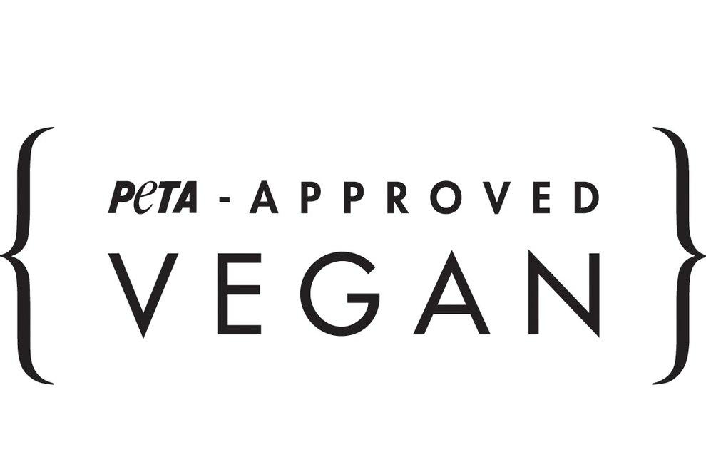 """PETA-Approved Vegan Siegel"